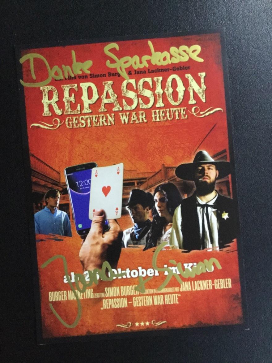 Repassion -Gestern war heute DerKultur.blog