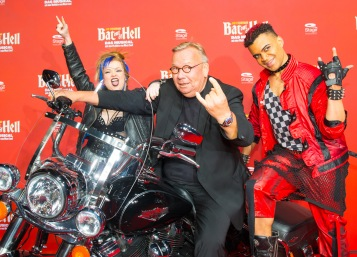 Deutschlandpremiere Jim Steinmans BAT OUT OF HELL - Das Musical im Stage Metronom Theater Oberhausen 8. November 2018 Bernd Stelter