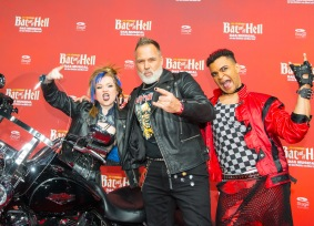 Deutschlandpremiere Jim Steinmans BAT OUT OF HELL - Das Musical im Stage Metronom Theater Oberhausen 8. November 2018 Frank <> Matthée