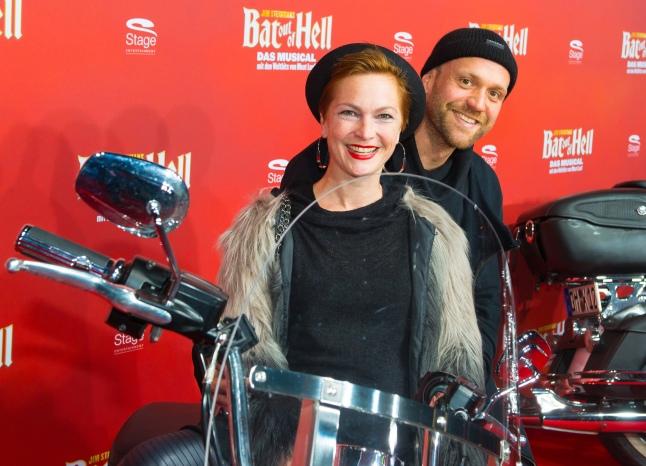 Deutschlandpremiere Jim Steinmans BAT OUT OF HELL - Das Musical im Stage Metronom Theater Oberhausen 8. November 2018 Moritz A. Sachs und Sabine Lindlar
