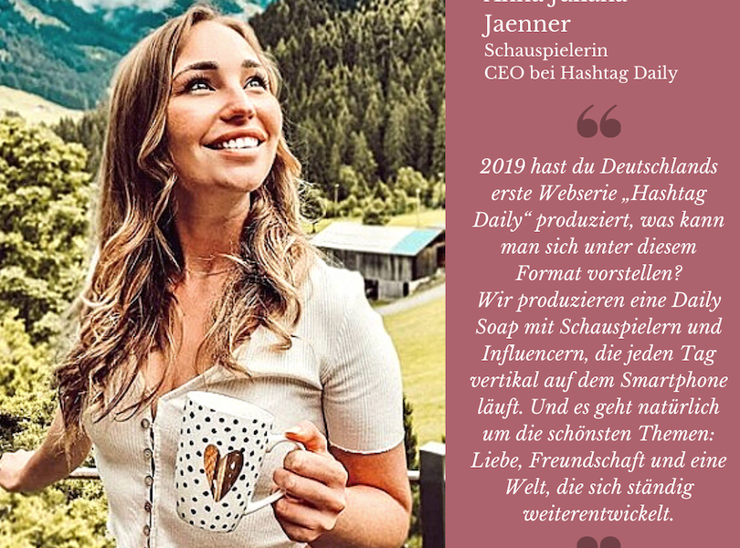 Anna Juliana Jaenner - DerKultur.blog